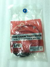 Pair Glacier Chain Tire Chain Tightener MD#100 Fits All Passenger Cars, Minivans