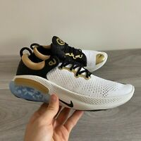 NIKE JOYRIDE RUN FLYKNIT SANGHAI  - UK 7.5 & 9.5 - WHITE/GOLD CQ4813-104