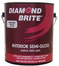 Diamond Brite Paint 21450 1-Gallon Semi Gloss Latex Paint Antique White