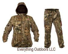 ScentBlocker SOLA Womens Protec HD Jacket Pant Set Mossy Oak Small Matching Cap