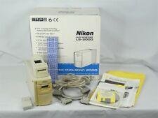 Nikon LS-2000 Film Scanner w/SA-20, MA-20, FH-2, SCSI cables