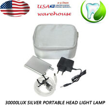 3 in 1 Clip On LED Headlight Lamp For Dental Surgical Binocular Loupes Dentist
