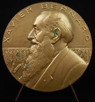 Medal School Agricultural of Venours Rusted Based by Xavier Bernard 1943 Cochet