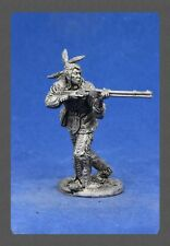 """Tin soldiers """" """"wild West (54 mm, 1/32) # ww 13 Indian with a gun"""