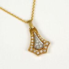 Aus mehrfarbigem Gold mit SI Reinheit Anhänger mit echten Diamanten