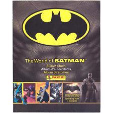 Panini - The World of Batman Sticker Collection - ALBUM - New