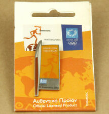 Greece Athens 2004 Olympic Games Pin Torch Relay Chalkida