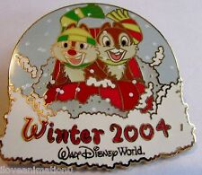 Disney WDW Chip & Dale Sledding Winter #2 Surprise Release Pin