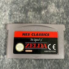 The Legend Of Zelda NES Classics Nintendo Game Boy Advance GBA Game Genuine