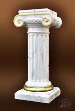 Säule Blumensäule Dekosäule Antik Griechische Marmor Optik Podest Stuckgips