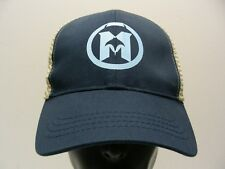 M LOGO WITH MANTA RAY - ONE SIZE ADJUSTABLE SNAPBACK BALL CAP HAT!