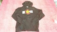 Hoodie, Black, Medium Size, Zipper Front, Republic Brand, Front Logo, Pre Owned