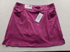 NEW Lady Hagen Women's Pink Chevron Golf Skort, Front Pockets Size 16