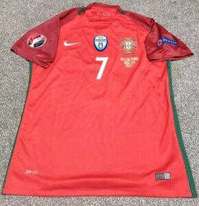 Rare Portugal Euro 2016 Champions Final Shirt Jersey RONALDO 7 CR7 Size MEDIUM.