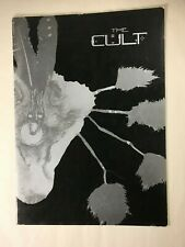 The Cult 1986 North American Love Tour Concert Program Vtg