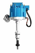 Blue Ford HEI Distributor w/ 50k Electronic Ignition Coil 5.0 289 302 347 SBF