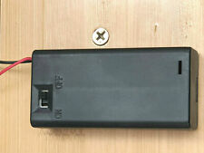 2 AA Battery Pack Holder Box Case 3V ON/OFF Switch