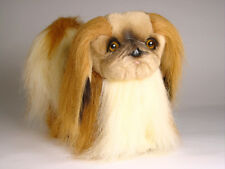 Pekingese by Piutre, Hand Made in Italy, Plush Stuffed Animal NWT