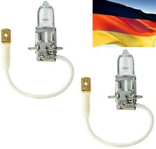 Flosser Rally H3 130W 13330 Two Bulbs Fog Light High Wattage Replacement Upgrade