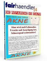 ROHTEXTE zum Thema AKNE - 9 Texte zum Bearbeiten zum TOPVERDIENST PLR Reseller