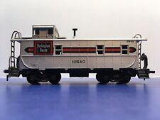 """HO Scale """"Burlington Route"""" 13540 Freight Train Caboose Car"""