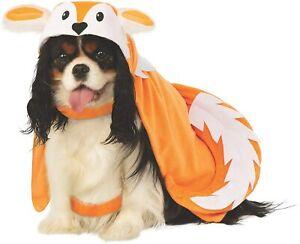 Fox Cape Wild Animal Cute Funny Fancy Dress Up Halloween Pet Dog Cat Costume