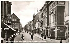 16465/ Foto AK, Köslin, Koszalin, Bergstraße, Geschäfte, ca. 1935
