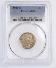 1923-S Buffalo Nickel CERTIFIED PCGS AU 55  5-Cents
