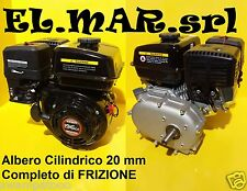 Loncin G200FB con FRIZIONE Motore benzina 4 tempi HP 6,5 196 cc a scoppio