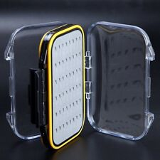 Small Pocket Sized Clear View Double Sided Waterproof Easygrip Fly Boxes