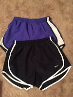 NIKE DRI-FIT Women's Size S Athletic Running Shorts Lot of 2
