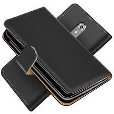 Handy Hülle für ZTE Axon 7 Schutz Klapp Etui Booklet Flip Cover PU Leder Tasche