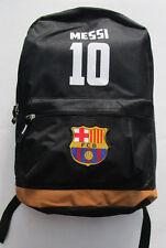 Men's Barcelona FC Backpack, New Black Soccer Backpack Official Licensed Product