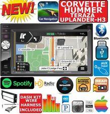 CORVETTE HUMMER H3 GPS NAV SYSTEM BLUETOOTH CAR RADIO STEREO PKG W OPT SIRIUSXM