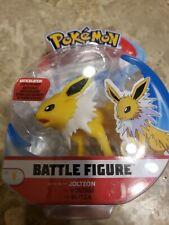 "🔥🔥🔥Pokemon Battle Figure Jolteon 3"" Figure 2019 Articulated Eevee Evolution"