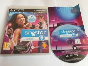 Singstar + Dance Sony PlayStation 3 PS3 Game Complete FREE UK POSTAGE