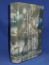 ABSALOM, ABSALOM William Faulkner First Edition, 1st Print, 1936, VG Condition