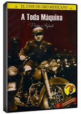 SEALED - A Toda Maquina 1951 DVD NEW Pedro Infante Includes Extras!