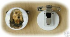 Otterhound Bone China Ring Clip by Starprint - Auto combined postage