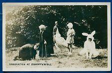 Dramatics at Shantywell Reunion Pelham Manor New York real photo postcard RPPC