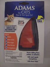 Adams For Cats Flea & Tick Spot On Over 2.5 lbs But Under 5 lbs 3 Month Supply