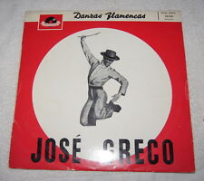 LP: Jose Greco - Danzas Flamencas - Made in France