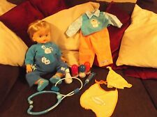 Giochi Preziosi 70056391 Cicciobello Deluxe ''Doctor'' doll VGC