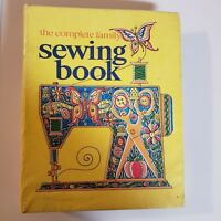 The Complete Family Sewing Book 1972 Vintage