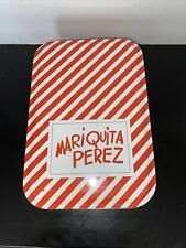 """Mariquita Perez Beautifully Crafted 8"""" Doll & Exquisite Clothes In Tin"""