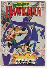 Brave And The Bold #36 2.5 G+ Shadow Thief Hawkman Hawkgirl Joe Kubert DC Comics