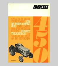 FIAT 450  Schlepper Traktor Ersatzteilliste Orginal 1970