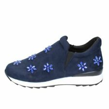 Chaussures bleus pour fille, daim