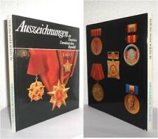 DDR Buch : Medaille Orden Abzeichen NVA Stasi East german medal reference book