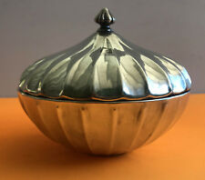 Buccellati Sterling Silver 925 Italy CANDY DISH W/ TOP~ MINT CONDITION